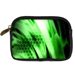 Abstract Background Green Digital Camera Cases