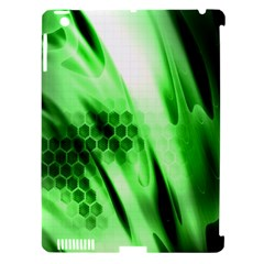 Abstract Background Green Apple Ipad 3/4 Hardshell Case (compatible With Smart Cover) by Simbadda