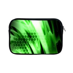 Abstract Background Green Apple Ipad Mini Zipper Cases by Simbadda