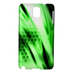 Abstract Background Green Samsung Galaxy Note 3 N9005 Hardshell Case by Simbadda