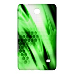 Abstract Background Green Samsung Galaxy Tab 4 (7 ) Hardshell Case