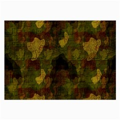 Textured Camo Large Glasses Cloth (2 Side) by Simbadda