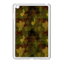 Textured Camo Apple Ipad Mini Case (white) by Simbadda