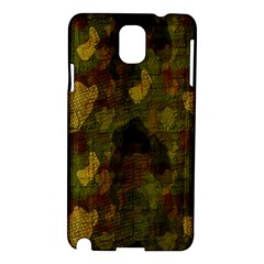 Textured Camo Samsung Galaxy Note 3 N9005 Hardshell Case