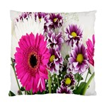 Purple White Flower Bouquet Standard Cushion Case (Two Sides) Back