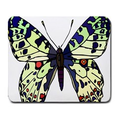 A Colorful Butterfly Image Large Mousepads by Simbadda