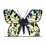 A Colorful Butterfly Image Plate Mats 18 x12 Plate Mat - 1
