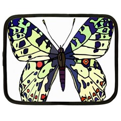 A Colorful Butterfly Image Netbook Case (xl)