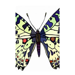 A Colorful Butterfly Image Shower Curtain 48  X 72  (small)  by Simbadda