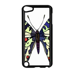 A Colorful Butterfly Image Apple Ipod Touch 5 Case (black)