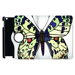 A Colorful Butterfly Image Apple Ipad 2 Flip 360 Case by Simbadda