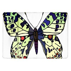 A Colorful Butterfly Image Samsung Galaxy Tab 10 1  P7500 Flip Case