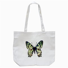A Colorful Butterfly Image Tote Bag (white) by Simbadda