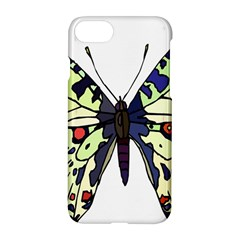 A Colorful Butterfly Image Apple Iphone 7 Hardshell Case