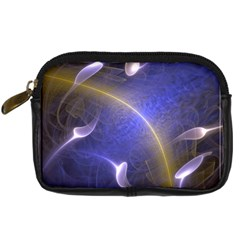 Fractal Magic Flames In 3d Glass Frame Digital Camera Cases by Simbadda