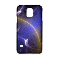 Fractal Magic Flames In 3d Glass Frame Samsung Galaxy S5 Hardshell Case  by Simbadda