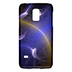 Fractal Magic Flames In 3d Glass Frame Galaxy S5 Mini by Simbadda