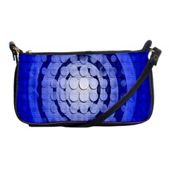 Abstract Background Blue Created With Layers Shoulder Clutch Bags