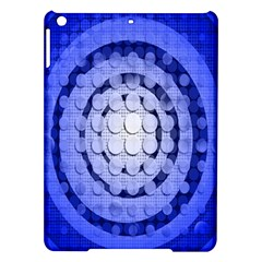 Abstract Background Blue Created With Layers Ipad Air Hardshell Cases