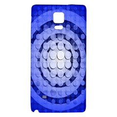 Abstract Background Blue Created With Layers Galaxy Note 4 Back Case