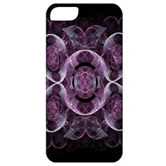 Fractal In Lovely Swirls Of Purple And Blue Apple Iphone 5 Classic Hardshell Case by Simbadda