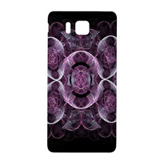 Fractal In Lovely Swirls Of Purple And Blue Samsung Galaxy Alpha Hardshell Back Case by Simbadda