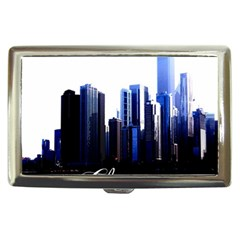 Abstract Of Downtown Chicago Effects Cigarette Money Cases by Simbadda