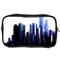 Abstract Of Downtown Chicago Effects Toiletries Bags by Simbadda