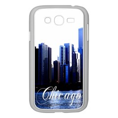 Abstract Of Downtown Chicago Effects Samsung Galaxy Grand Duos I9082 Case (white) by Simbadda