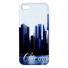 Abstract Of Downtown Chicago Effects Iphone 5s/ Se Premium Hardshell Case