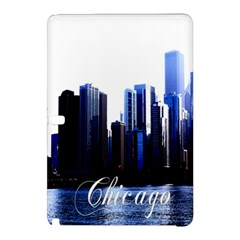 Abstract Of Downtown Chicago Effects Samsung Galaxy Tab Pro 10 1 Hardshell Case by Simbadda