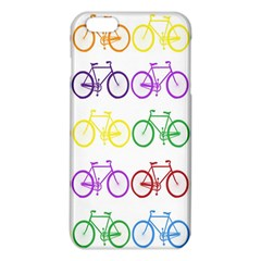 Rainbow Colors Bright Colorful Bicycles Wallpaper Background Iphone 6 Plus/6s Plus Tpu Case by Simbadda