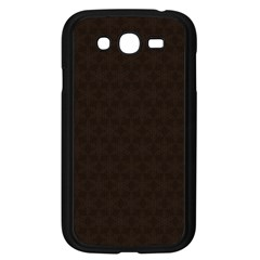Vintage Paper Kraft Pattern Samsung Galaxy Grand Duos I9082 Case (black) by Simbadda