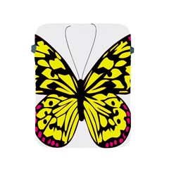 Yellow A Colorful Butterfly Image Apple Ipad 2/3/4 Protective Soft Cases