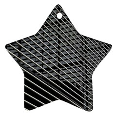 Abstract Architecture Pattern Star Ornament (two Sides) by Simbadda