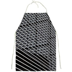 Abstract Architecture Pattern Full Print Aprons by Simbadda