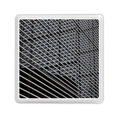 Abstract Architecture Pattern Memory Card Reader (square)  by Simbadda