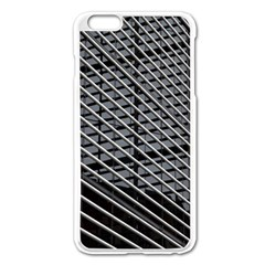 Abstract Architecture Pattern Apple Iphone 6 Plus/6s Plus Enamel White Case by Simbadda