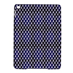 Squares Blue Background Ipad Air 2 Hardshell Cases