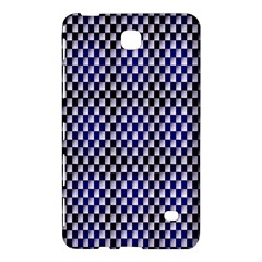 Squares Blue Background Samsung Galaxy Tab 4 (8 ) Hardshell Case