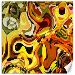 Colourful Abstract Background Design Canvas 16  X 16   by Simbadda