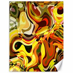 Colourful Abstract Background Design Canvas 18  X 24   by Simbadda