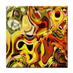 Colourful Abstract Background Design Face Towel by Simbadda