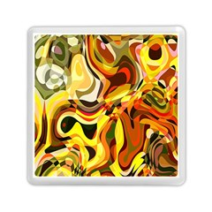 Colourful Abstract Background Design Memory Card Reader (square)