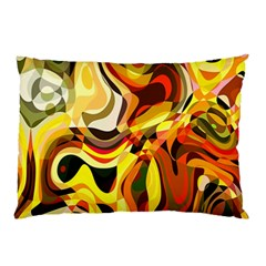Colourful Abstract Background Design Pillow Case (two Sides) by Simbadda