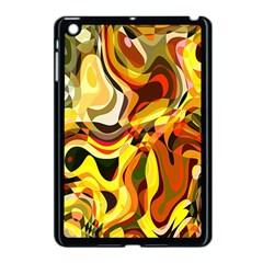 Colourful Abstract Background Design Apple Ipad Mini Case (black)