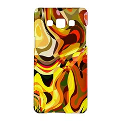 Colourful Abstract Background Design Samsung Galaxy A5 Hardshell Case  by Simbadda
