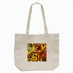 Colourful Abstract Background Design Tote Bag (cream)