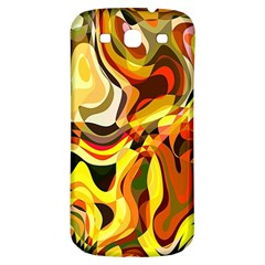 Colourful Abstract Background Design Samsung Galaxy S3 S Iii Classic Hardshell Back Case by Simbadda