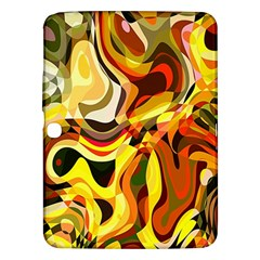 Colourful Abstract Background Design Samsung Galaxy Tab 3 (10 1 ) P5200 Hardshell Case